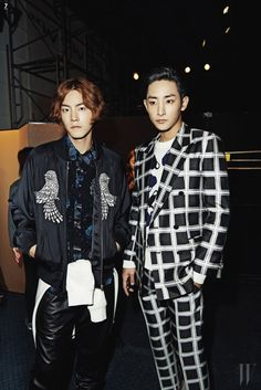 koreanmodel: Hong Jonghyun and Lee Soohyuk by Jung Jieun for W Korea