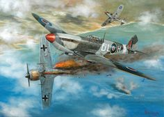 Deadly Encounter Spitfire Against The Fw190