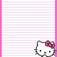 Special messages needs a special stationary, free printable
