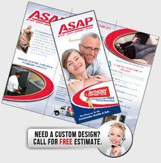 Brochure For Maintenance Service For Hvac Company Retro