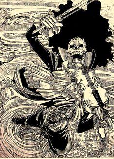 One Piece, Brook.
