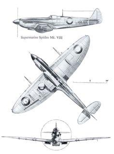 Supermarine Spitfire Mk.VIII RAAF Green Camouflage Color