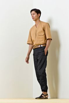 Christophe Lemaire Spring 2014 Menswear #ChristopheLemaire #Spring2014 #menswear
