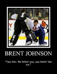 After Brent Johnson took out DiPietro...Feb 2011