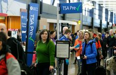 Trying to Get Past Airport Security Faster? Get in Line; A surge in applications for PreCheck, the Transportation Security Administration's solution to long lines, has led to processing delays and enrollment waiting lists.