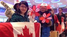 "Team Jones gets rockstar welcome upon return home to Winnipeg - mayor names street ""Honourary Team Jones Way"" Olympic Curling, Women's Curling, Jennifer Jones, Street Names, Golden Girls, The St, Olympics, Curls, The Golden Girls"