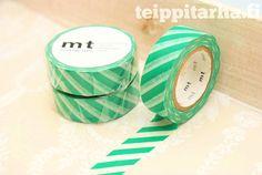 Vinoraita (vihreä) masking tape