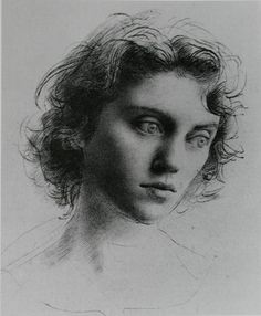 Pietro Annigoni, Study of a Youth's Head Pietro Annigoni (7 June 1910 – 28 October 1988) was an Italian portrait and fresco painter, who became world famous after painting Queen Elizabeth II in 1956.