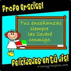Tarjetas Dia Del Profesor Jpg Día De Los Maestros Tarjeta De Feliz Día Del Maestro Felicitaciones Día Del Maestro