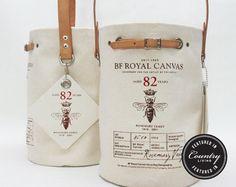 BF Garden Bucket by Bravura on Etsy