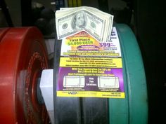 who doesn't love #money #loosing weight, #bumperplates #$4000