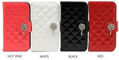 Lumiel Rose Quilting Wallet Case for LG G3 S (aka Beat)