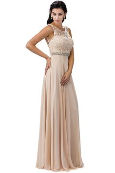 8786a507a03 Long Bridesmaids Plus Size Formal Pleated Prom Dress Bride Dresses