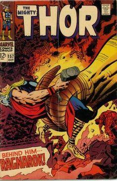 Thor 157. Por Jack Kirby. #Thor #JackKirby