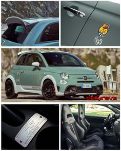 2020 Fiat 695 Abarth anniversary - HQ Pictures, Specs, Information & Videos - Dailyrevs Fiat Cars, Xenon Headlights, Digital Radio, 70th Anniversary, Turbo S, Supersport, Limited Slip Differential, Fiat 500, Car Detailing