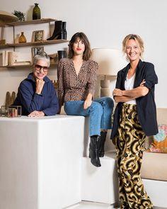 """ELLE on Instagram: """"Icône du style parisien avec sa marque @rouje, et phénomène digital, @jeannedamas inaugure sa première boutique-restaurant, à Paris. Du…"""""""