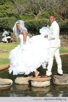 Nigerian wedding couple  kit