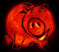 Pumpkin Carving: Hamm - James