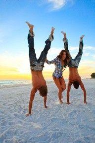 Handstands and summer
