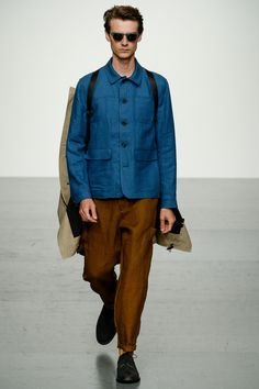 Oliver Spencer Spring 2018 Menswear Fashion Show Collection