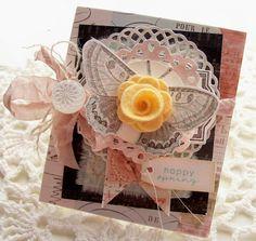 Happy Spring Handmade Card