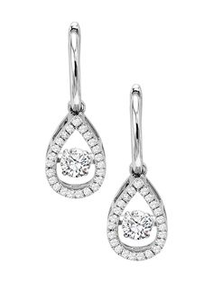 Drop Shaped Rhythm Of Love Earrings Perfect For An Up Do Wedding Hairstyle