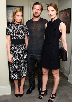 Barneys New York Hosts Dinner for Proenza Schouler First Collection Collaboration: Victoria Traina in Proenza Schouler, Max Snow and Vanessa Traina Snow in Proenza Schouler
