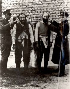 Poland, Two Jews having their beards shorn by German policemen. Jewish History, World History, The Lost World, World War Two, Poland Ww2, Jewish Ghetto, Never Again, The Third Reich, Japan