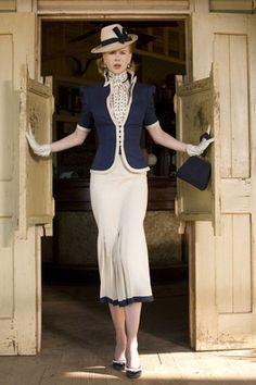 1940's suit fashion nicole kidman