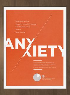 do one of you suffer from anxiety here is a great website http graphic design typographygraphic design postersposter designsposter ideasposter