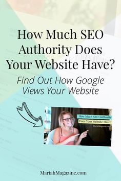 How much SEO authority does your website have? How does Google view your website and backlinks? Learn how to get free insight on your SEO domain authority. via @mariahmagazine