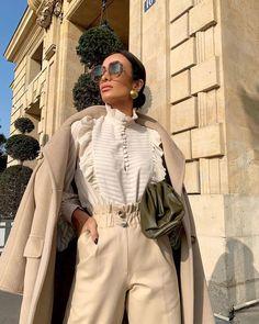 Mariah Bernardes, Kim Kardashian, Silvia Braz, Beige Outfit, Office Looks, Winter Looks, Foto E Video, Body, Korean Fashion