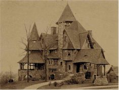 Could you have imagined growing up in this house? All the rooms, hallways, staircases, and closets. Perhaps a hidden room or a secret passage or two?