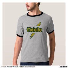Fiddle Power-Men's T-Shirt
