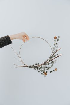 Zealous appointed diy metal projects ideas continue reading this Christmas Makes, Noel Christmas, Christmas Trends, Christmas Inspiration, Holiday Wreaths, Christmas Decorations, Winter Wreaths, Spring Wreaths, Summer Wreath
