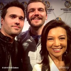 Ming-Na Wen & Brett Dalton - comic con Portland 2015 Grant Ward, Melinda May, Ming Na Wen, Marvels Agents Of Shield, It Cast, People, Portland, Instagram, Comic Con