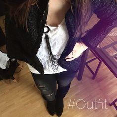 Shopping Outfit des Tages. Coco lässt grüßen  #outfit #shopping #möbel #wohnung #wien #vienna #fashionblogger