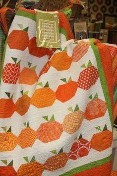 Pumpkin Quilt