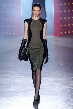 Jason Wu Fall 2012 RTW. The gloves are an awesome touch.