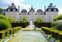 France, Loire Valley - Château de Cheverny II (The Gardens)
