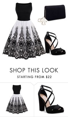 """A casual night out"" by evalia1291 on Polyvore featuring Nina and Miss Selfridge"