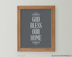 Küche Wand Kunst alle was ich heute brauchen ist von BlackstarPress