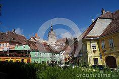 Medieval city of Sighisoara, Transylvania, Romania