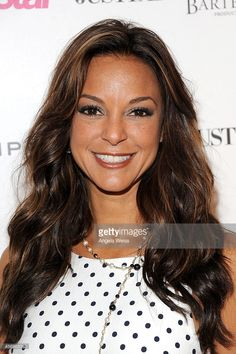 Actress Eva LaRue attends the Star Magazine Scene Stealers Event at Lure on October 2014 in Los Angeles, California. Get premium, high resolution news photos at Getty Images Make Her Smile, Smile Smile, Eva Larue, Star Magazine, Actor Photo, Famous Girls, Hot Brunette, Star Wars, Grunge Hair
