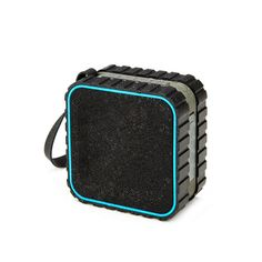 Bluetooth Splash Speaker - Be an adventurer and never sacrifice your music with this tough set of speakers. Featuring a tread-inspired, no slip, and splash resistant shell, the Bluetooth Splash Speaker connects to phones, mp3 players, tablets, and laptops to make the perfect universal accessory. So power up the four hour rechargeable battery and take it out when you head off to the beach or pool. - Found at myWebRoom.com