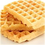 Start the day off right with Fluffy Flax Waffles. This delicious and high-protein breakfast is only 2.3 Net Carbs.