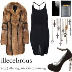 """illecebrous."" by goldiloxx ❤ liked on Polyvore"