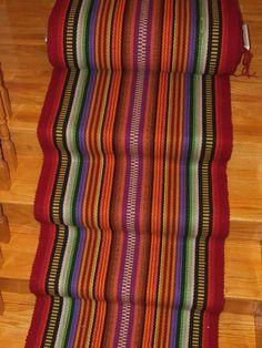 Handwoven By Steve's Specialties - Hand Woven Floor Runner, Custom Length