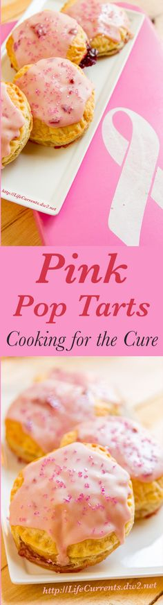 Fun Pink Pop Tarts are a great way to support Breast Cancer Awareness