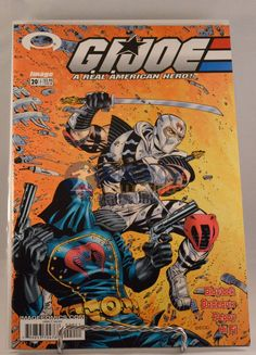 This GI Joe A Real American Hero (2003 Image) #20 Comic comes exactly as shown in pictures. Comic is in NM condition WARNING: CHOKING HAZARD-Small parts. Not for children under 3 years.